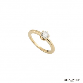 Chaumet Round Brilliant Cut Diamond Ring